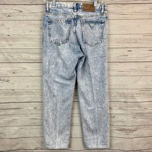 90s Guess Marciano high rise mom jeans acid wash